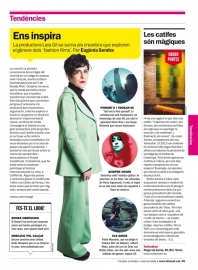 Laia Gil en la revista Time Out