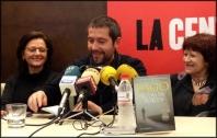 Carles Porta a la llibreria La Central