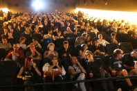 Crowded cinema